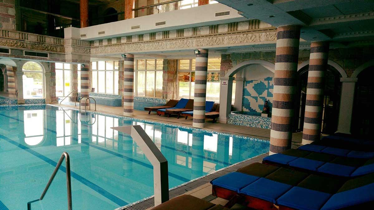Unutrašnji bazen - Sokoterme